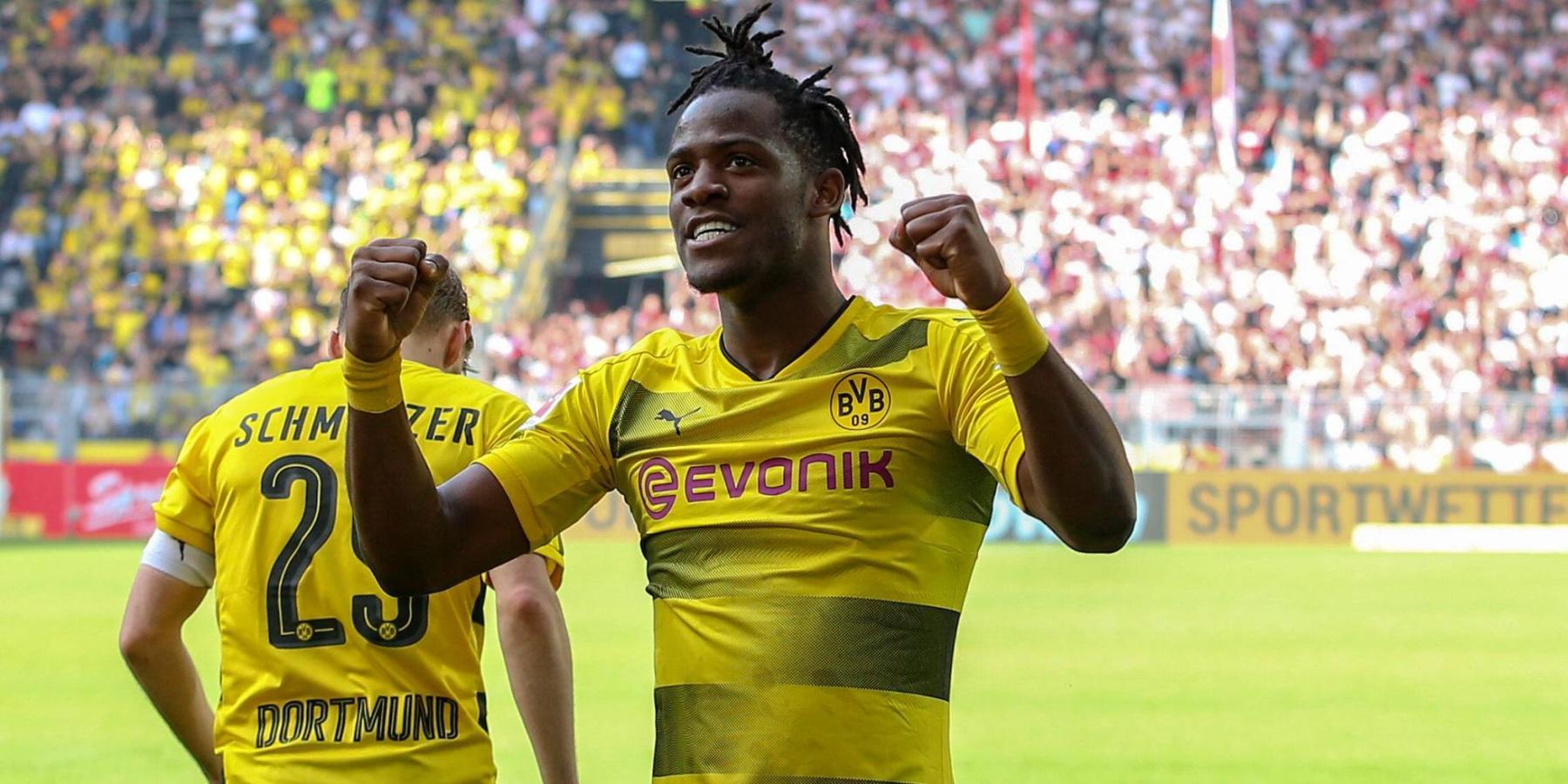 Michy Batshuayi von Borussia Dortmund