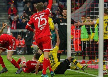 Thomas Müller und Robert Lewandowski zerlegen den BVB