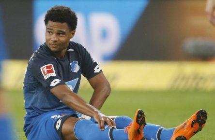 Bitter: Für Serge Gnabry ist die Saison beendet