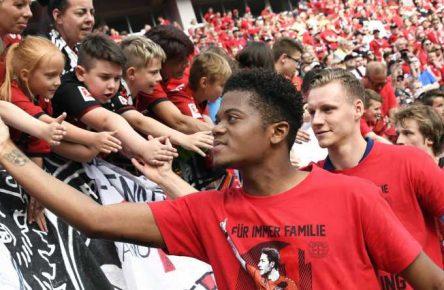 Leon Bailey verpasste mit Bayer Leverkusen die Champions League knapp