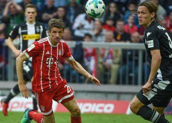 Vor dem 34. Spieltag in Topform: Müller und Vestergaard von Bayern und Gladbach