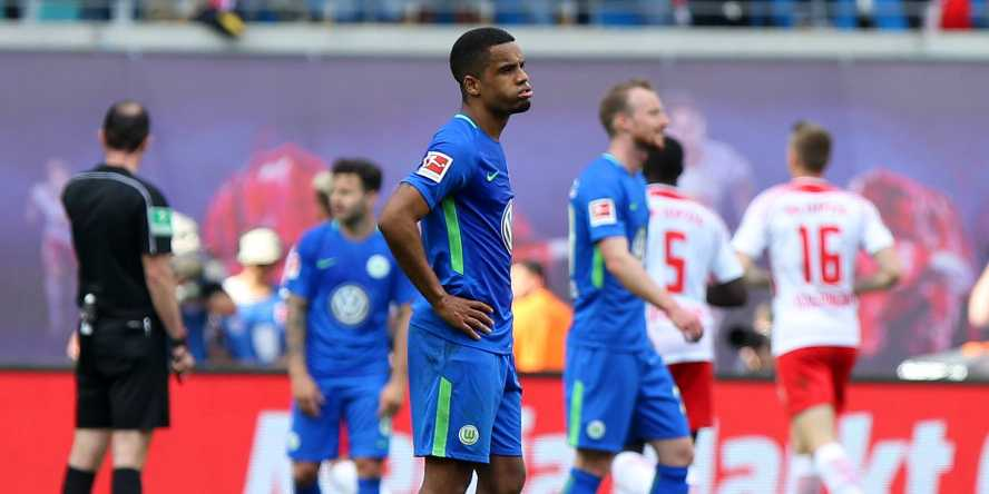 Daniel Didavi und dem VfL Wolfsburg droht der Abstieg