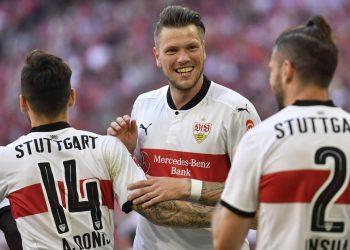 Daniel Ginczek schießt den VfB Stuttgart in die Europa League