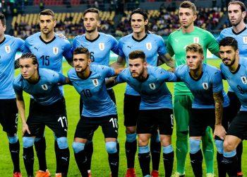 Die Nationalmannschaft von Uruguay