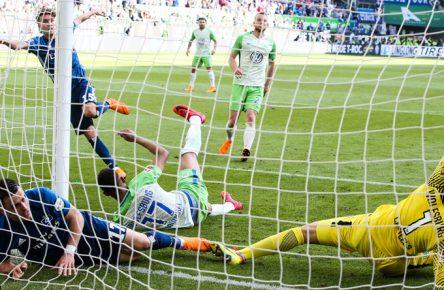 Luca Waldschmidt trifft besonders gerne gegen den VfL Wolfsburg.
