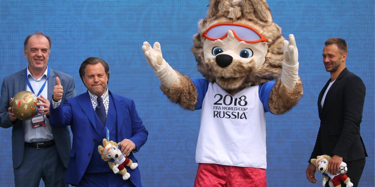 Die WM 2018 in Russland: Maskottchen Zabivaka