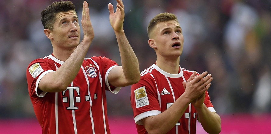Momentaner Preisverfall: Lewandowski und Kimmich von Bayern München