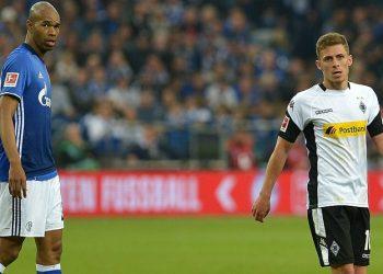 Aktuell auf Abwegen: Naldo und Hazard von Schalke und Gladbach