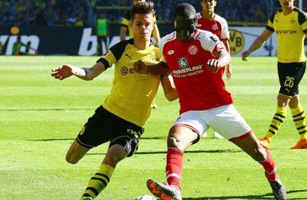 Bald Kollegen? Weigl und Diallo von Dortmund und Mainz