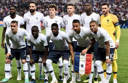 Frankreich Nationalmannschaft Equipe Tricolore Teamfoto Comunio Blog WM Manager