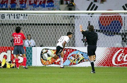 WM-History: Michael Ballack schoss das DFB-Team 2002 ins WM-Finale.