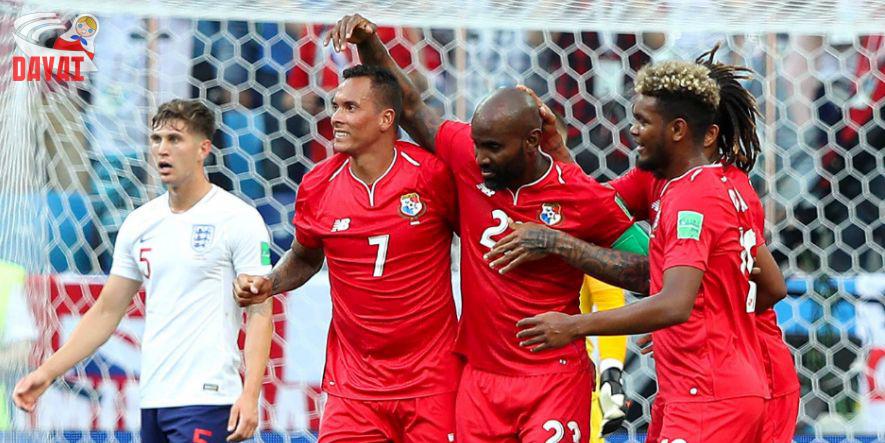 England konsterniert, Panama feiert: Felipe Baloy erzielte gerade das 1_6