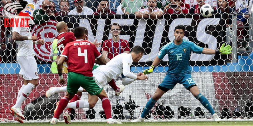 Gleich passiert es wieder: Ronaldo liefert.