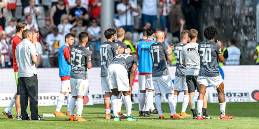 Der FC Augsburg war die Überraschungsmannschaft der abgelaufenen Spielzeit.