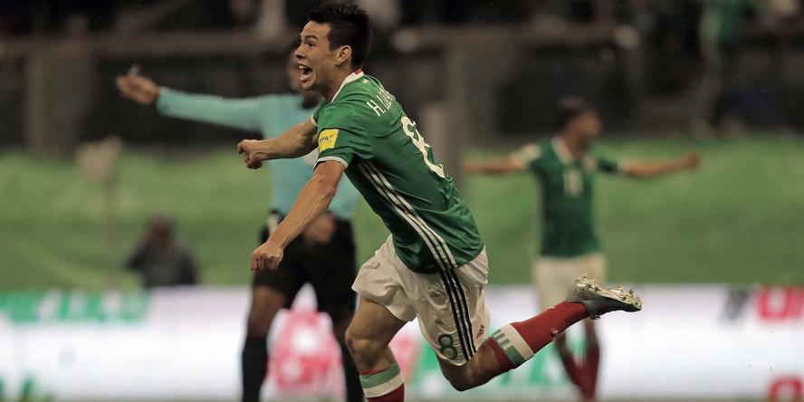 Hirving Lozano gilt als das größte mexikanische Talent.