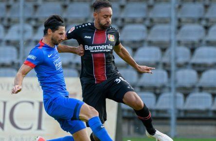 Bellarabi im Testspiel gegen den Wuppertaler SV
