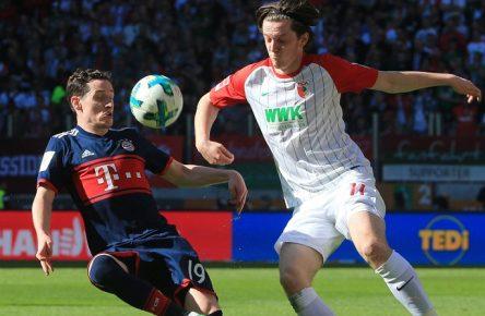 Umworben: Rudy und Gregoritsch von Bayern und Augsburg