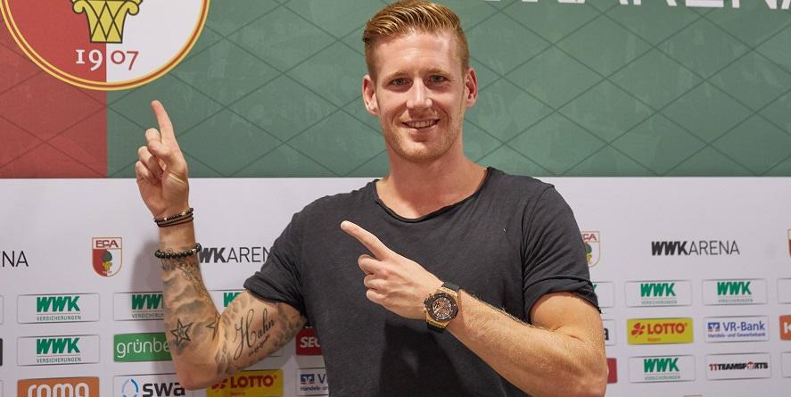 Gewinner bei Comunio: Augsburgs Rückkehrer Andre Hahn