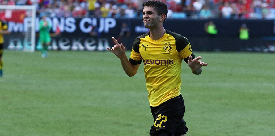 Startet er bei Comunio wieder durch? Pulisic von Borussia Dortmund