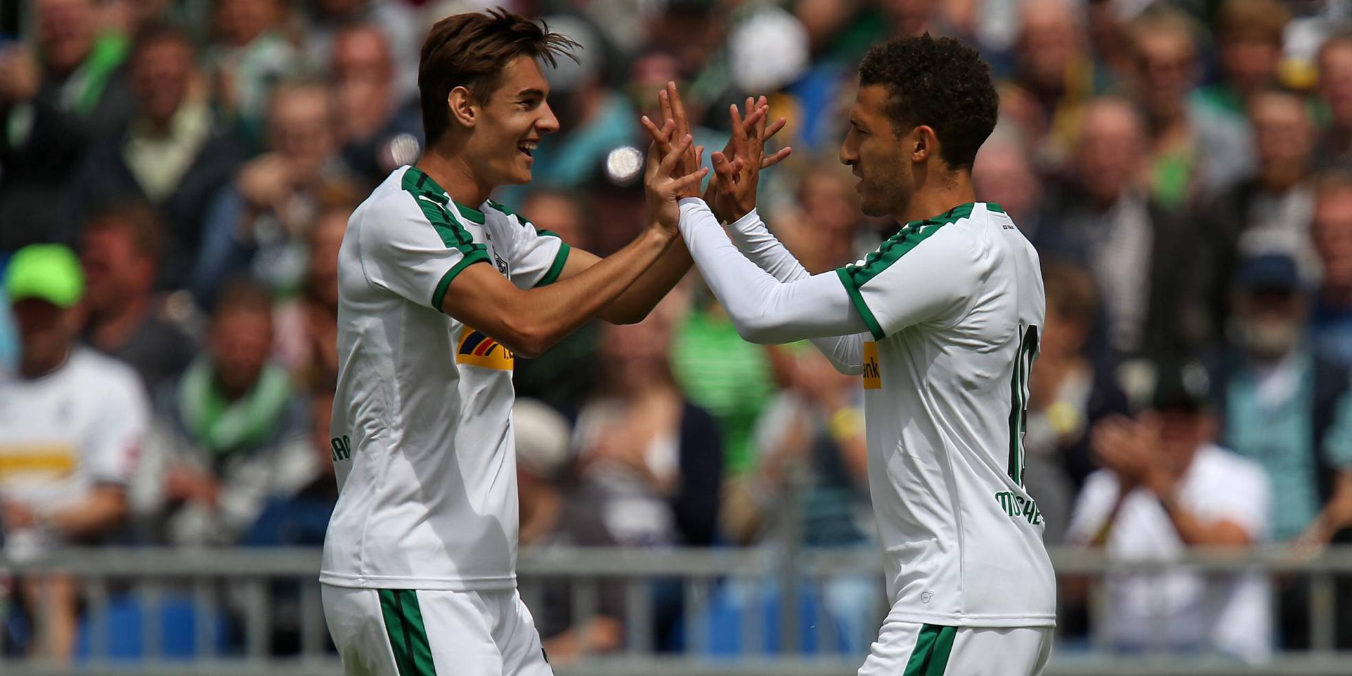 Fabian Johnson trifft doppelt für Borussia Mönchengladbach