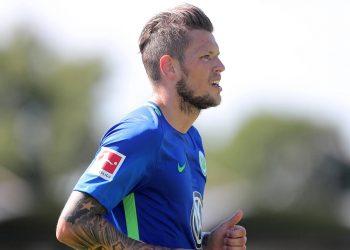 Daniel Ginczek trifft doppelt im Testspiel für den VfL Wolfsburg