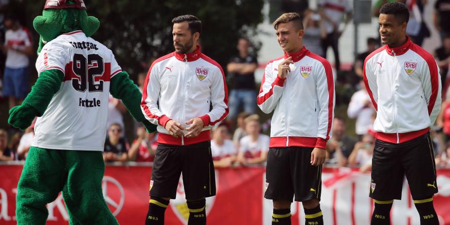 Gonzalo Castro, Pablo Maffeo und Daniel Didavi wollen mit dem VfB Stuttgart durchstarten