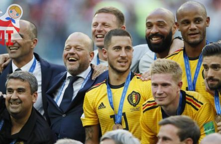 Belgien mit Eden Hazard wird WM-Dritter