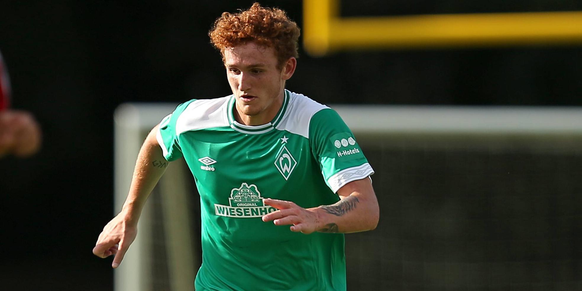 Josh Sargent stürmt für den SV Werder Bremen