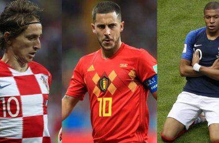 Gesichter der WM: Modric, Hazard, Mbappe