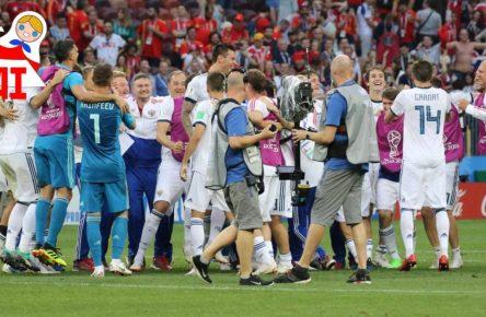Russland gewinnt gegen Spanien bei der WM 2018