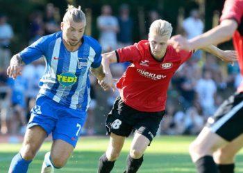 Lockerer Aufgalopp für Alexander Essweins Hertha