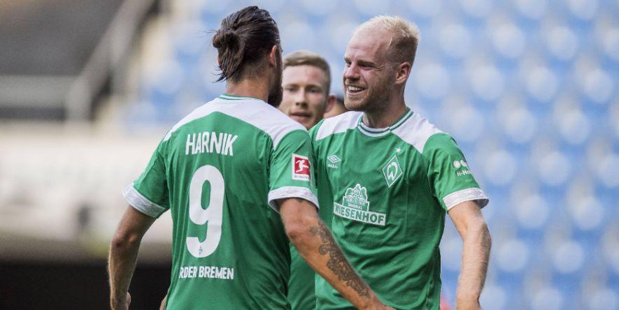 Direkt mittendrin: Werder-Rekordeinkauf Davy Klaassen