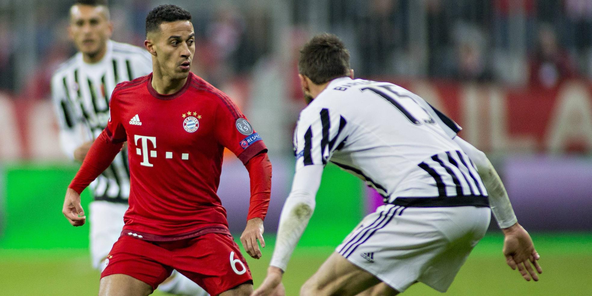 Wechselt Thiago Alcantara zu Juventus Turin?
