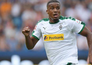 Hoch und runter: Alassane Plea von Borussia Mönchengladbach
