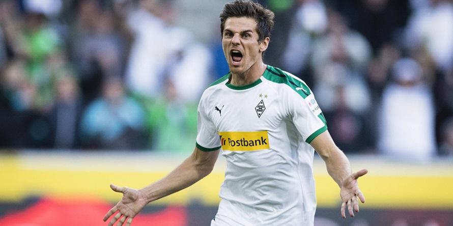 Am 1. Spieltag bereits in Topform: Jonas Hofmann von Borussia Mönchengladbach