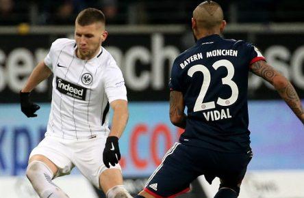 Endgültig vor einem Transfer? Rebic und Vidal von Frankfurt und Bayern