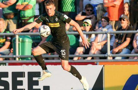 Gewinner der Vorbereitung: Louis Beyer von Borussia Mönchengladbach