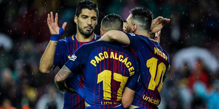 Paco Alcacer steht angeblich im Fokus von Borussia Dortmund.