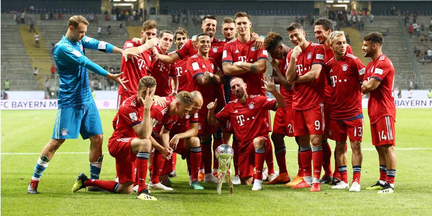 Der FC Bayern geht auch wieder als großer Favorit in die Saison 2018/19.