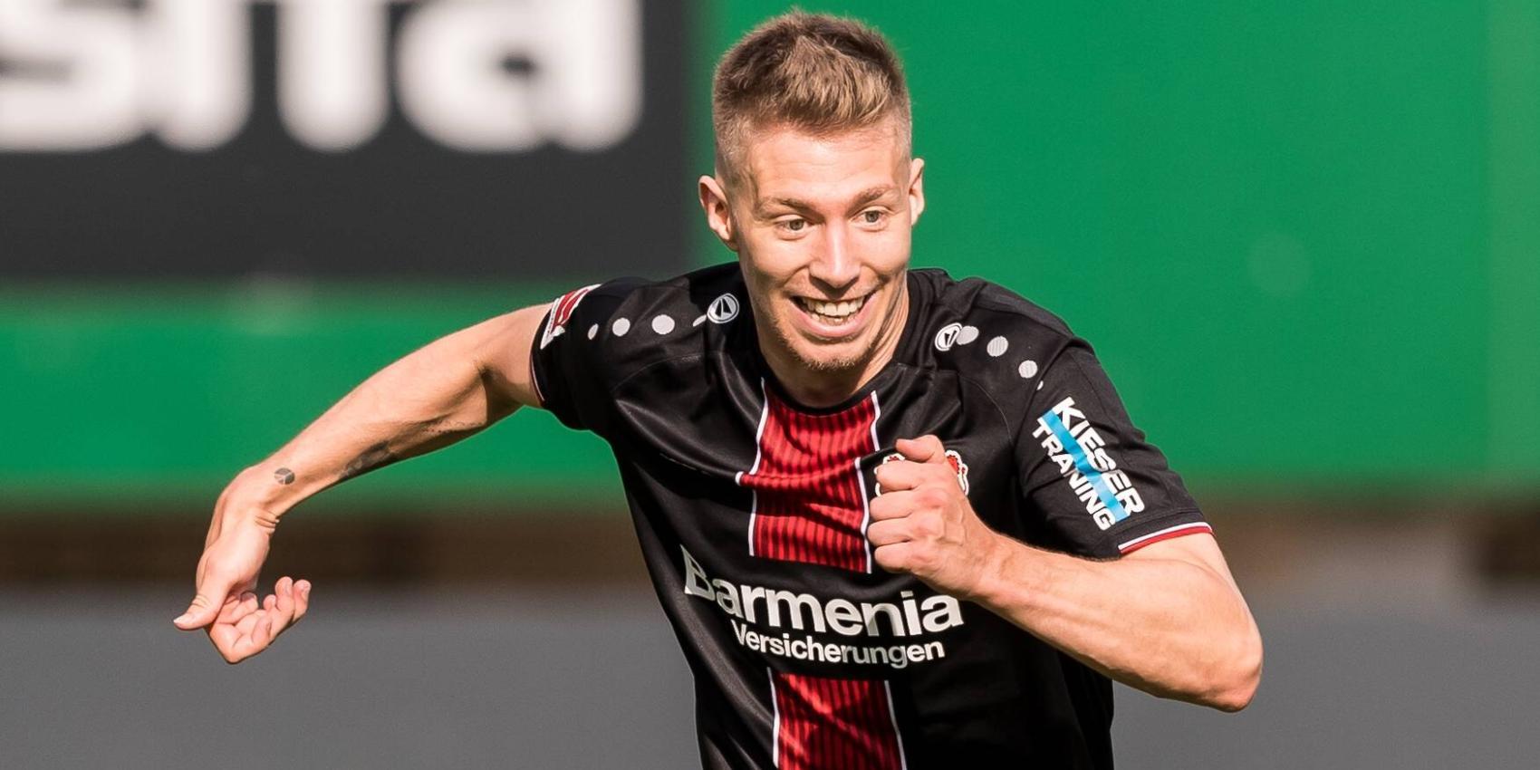 Mitchell Weiser von Bayer 04 Leverkusen
