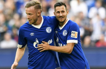 Der FC Schalke schlug den AC Florenz mit 3:0.