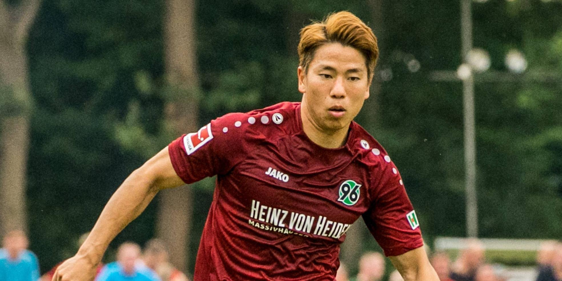 Takuma Asano trifft für Hannover 96