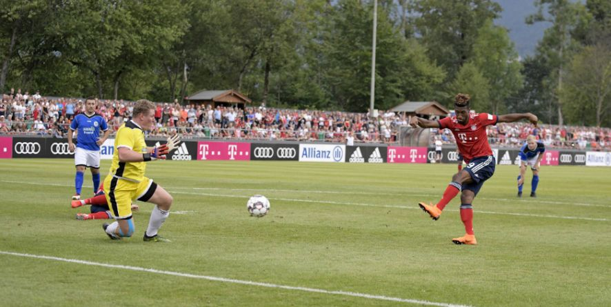 Traf dreifach beim Bayern-Torspektakel: Kingsley Coman