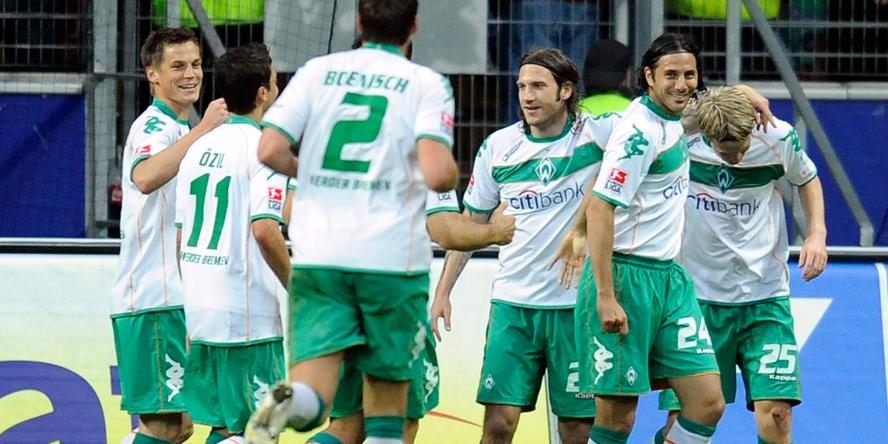 Werder Bremen ballerte Eintracht Frankfurt damals mit 5:0 aus dem eigenen Stadion.