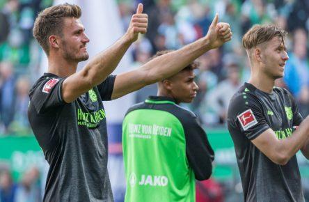 Hendryk Weydandt traf in seinem ersten Bundesliga-Spiel.