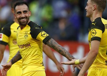 Gewinner: Alcacer und Bruun Larsen von Borussia Dortmund