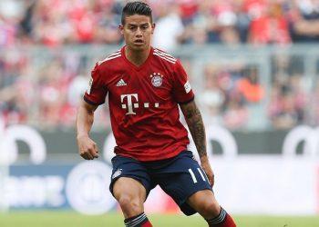 Läuft bei ihm: James Rodriguez vom FC Bayern München