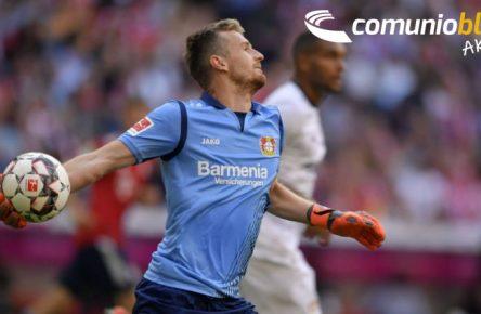 Fit für Europa: Bayer-Keeper Lukas Hradecky ist einsatzbereit