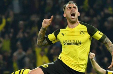 Kann erst am Samstag wieder jubeln - vielleicht: Dortmunds Paco Alcacer