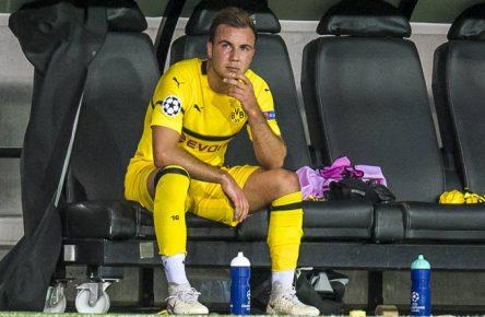 Mario Götze durfte erstmals in dieser Spielzeit ran - und enttäuschte.